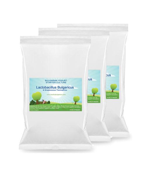 Yogurt starter – 3 packs saver combo