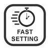 Fast setting